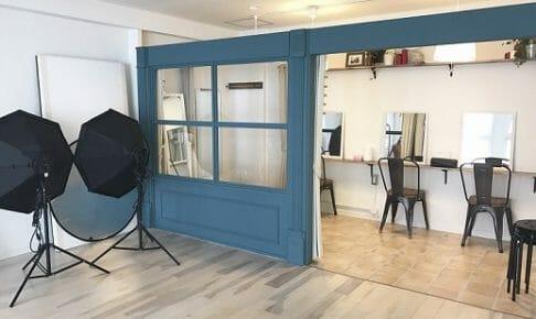 新しいスタジオ風景