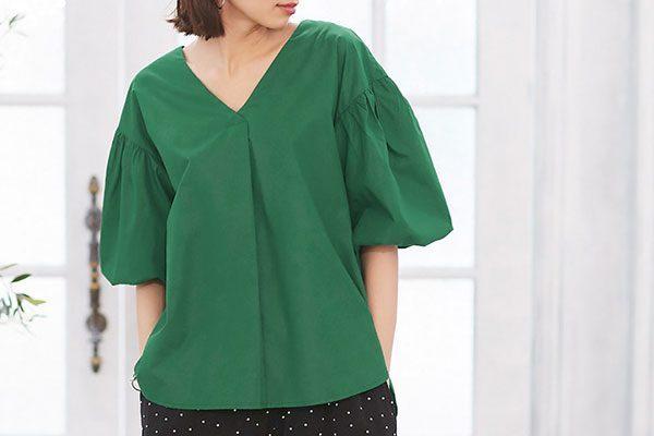 きれいめスタイルを作るシャツ・ブラウスコーデ