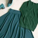 今注目のトレンドカラー「グリーン」コーデでおしゃれ見え♡スカート・パンツ・カーデからトップスまで徹底攻略!