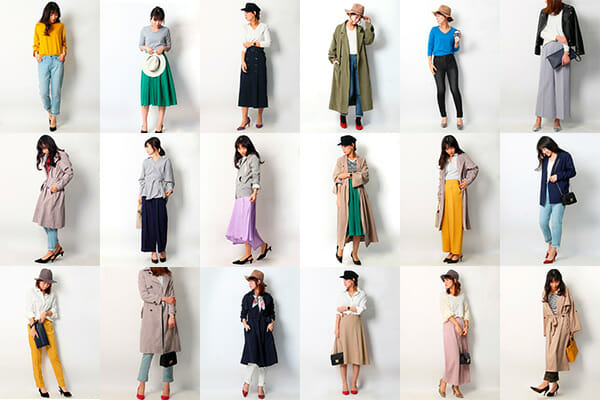 30代40代ファッションコーディネート