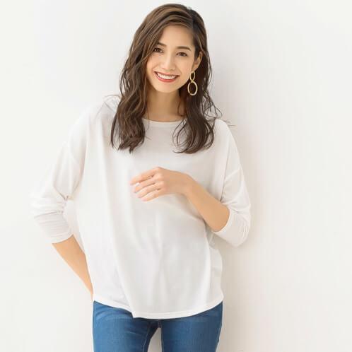 白ロングTシャツ