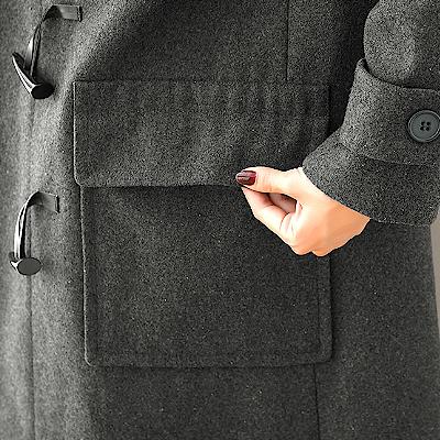 ダッフルコート ポケット
