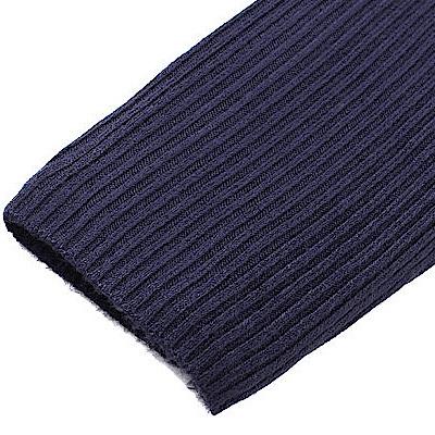 リブニット袖3