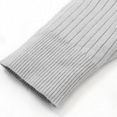 リブニット袖4