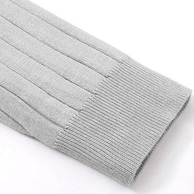リブニット袖1