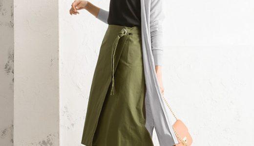 スカートで大人カジュアルに♡ニュアンスカラーで作る春ムード全開コーデ