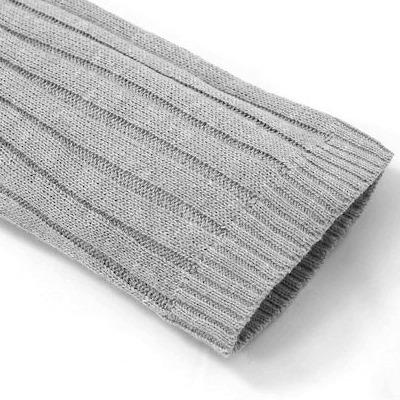 リブニット袖2
