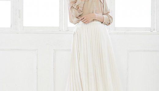 プリーツスカート×シャツで魅せる♡スタイリッシュなシンプルスタイル