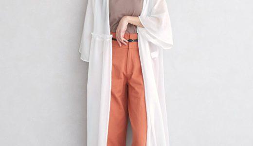 トレンドカラーのオレンジがポイントに♪女っぽさを醸し出す大人のリラクシースタイル
