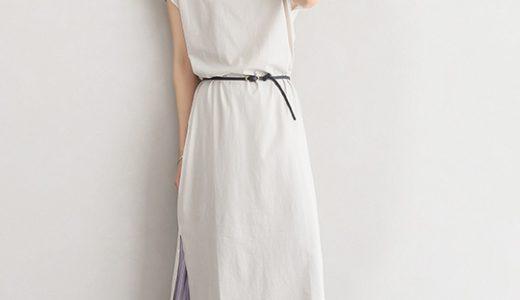 シャイニースカートで旬のレイヤードスタイルも今っぽく更新!