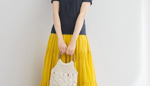 イエローのスカートが夏にピッタリ♡大人女子も挑戦しやすいトレンドコーデ