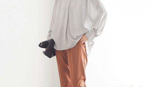 ルーズなサイズ感が大人の抜け感とラフさを演出する、オーバーシャツコーデ