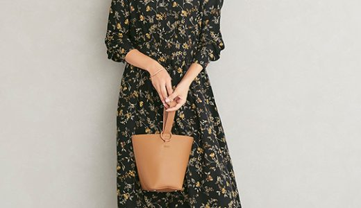 着るだけでシーズンムードがグッと高まる、今季マストな花柄ワンピースコーデ