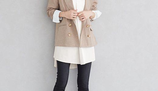 さらっと感がかっこいい、かっちりし過ぎないリネンライクのジャケットコーデ