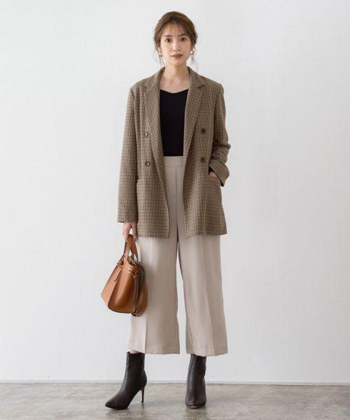 大人のジャケットコーデ