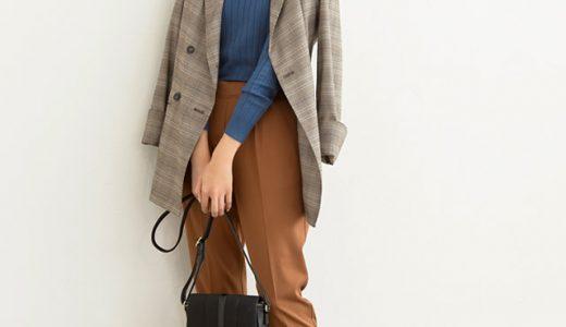 きちんと感のあるジャケットコーデに抜け感をプラスしてこなれスタイルへ!