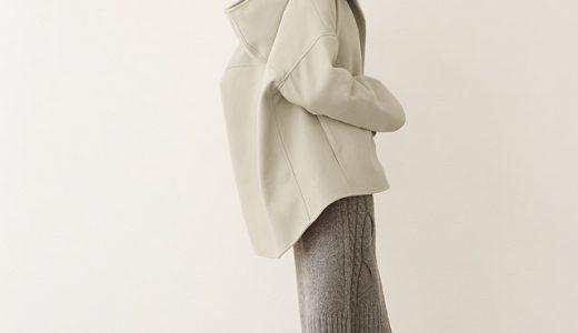 オーバーサイズのコートを羽織るだけで旬のコーデに大変身!大人のシンプルコーデ♪