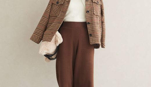 寒い日必見!裏起毛アイテムはワントーンでまとめで今季らしくオシャレに着こなす♡