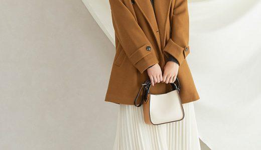 今季はコートで遊び心をプラスして。差し色でキメる!大人のフェミニンコーデ♡