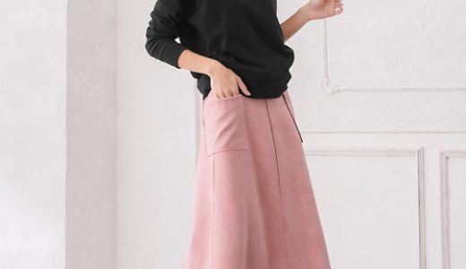 あえて冬にピンクが可愛い♡トレンドカラーを着こなす大人フェミニンカジュアルコーデ