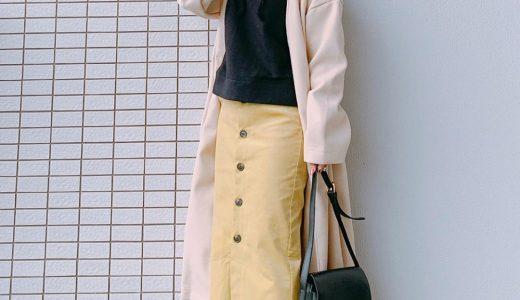 パーカー×タイトスカートでカジュアルItemを上品に着こなす*