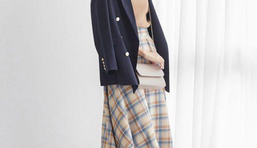 ジャケット×ミモレ丈スカートで春の大人フェミニンコーデにトライ!