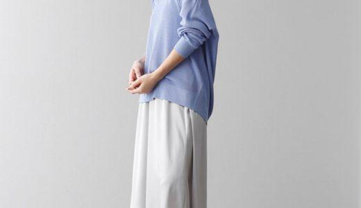 春カラーニット×サテンスカートで抜かりのないオシャレコーデに♡