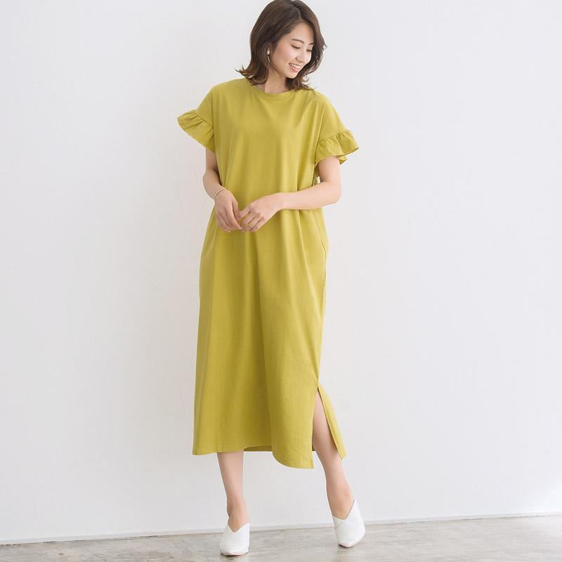 初夏の爽やかな印象に!デザインワンピースコーデでこなれ感のあるスタイリングが簡単に叶う♪