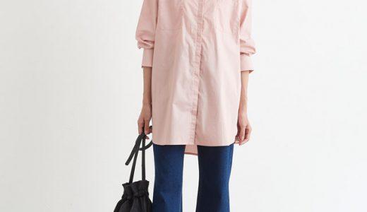 カラーシャツで♪定番スタイルを大人可愛くアップデート♡