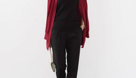 ワントーンのきれいめカジュアルは女っぽさが際立つ秋色カラーItemをON!