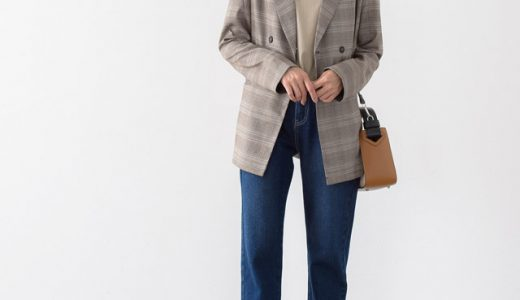 旬のジャケットスタイルはデニム合わせでカジュアルダウンさせるのがポイント!