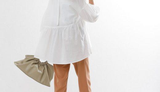 バックスタイルで魅了♡着るだけで華やぐブラウスが主役の最旬コーデ
