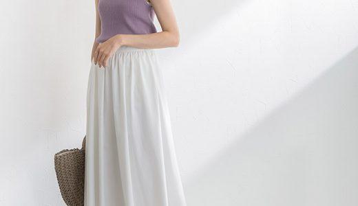 夏ムード全開!ホワイトスカートを取り入れた大人フェミニンスタイル