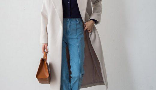 ゆったりコートでも細見えさせたい!冬のNOT着膨れコーデはメリハリ感がポイント